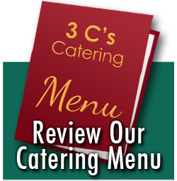 Catering Menu Tampa Bay